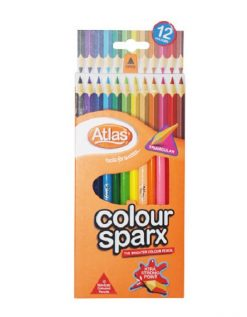 Atlas sparx colour pencils for sale online