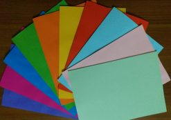 Different colours of Atlas A4 papers for sale in Sri Lanka