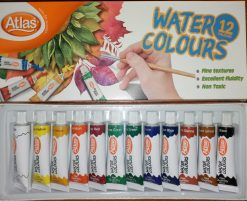 Atlas water colours 12 colour pack